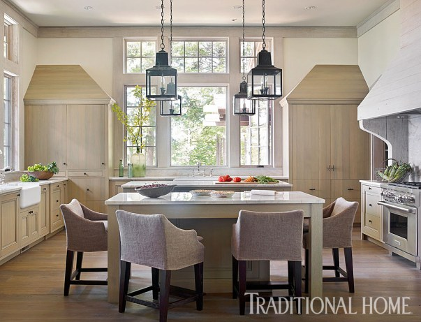 White Oak Kitchen Flooring, Custom Finish, Peter Block, Architect