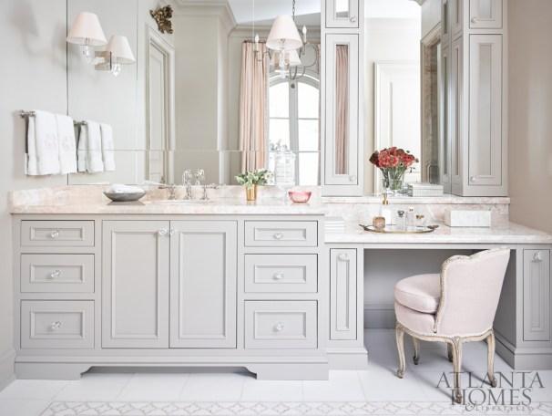 Glamorous Master Bathroom, Courtney Giles Interiors