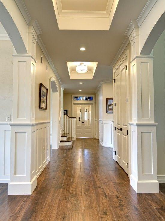 Elegant Hallway Displays Walnut Hardwood Floors, Shop 4 Floors
