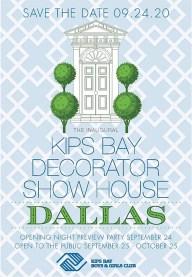 kips bay showhouse, dallas designer showhouse