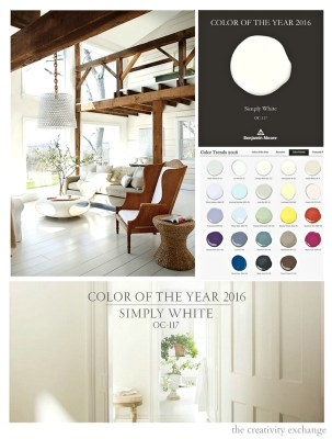 Color Of The Year 2016~Benjamin Moore
