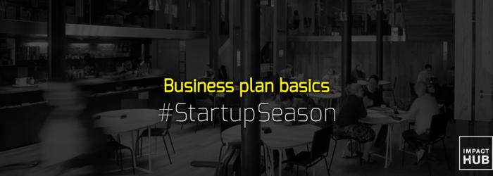 #StartUpSeason #BizPlanBasics header