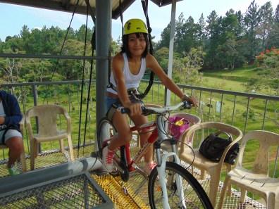 One of my cycling buddies, Jene.