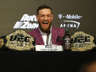 MacGregor responded to Mayweather's victory over the Japanese kickboxer
