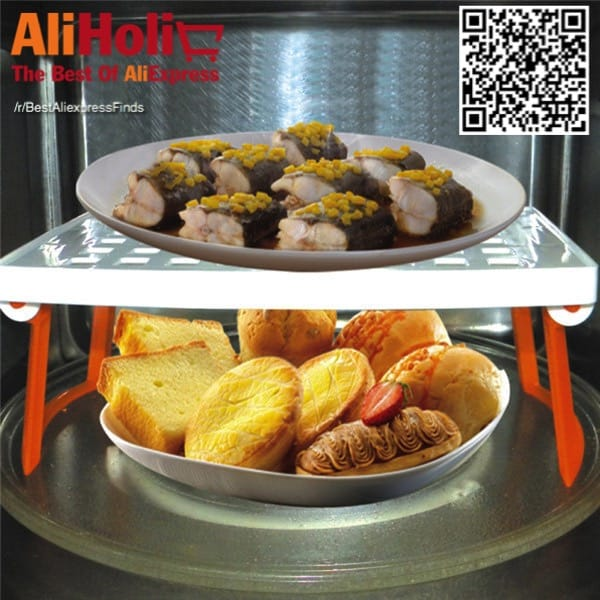 Microwave second floor stand AliExpress