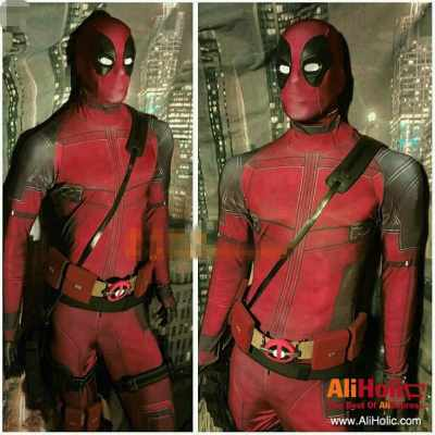Deadpool expensive costume AliExpress