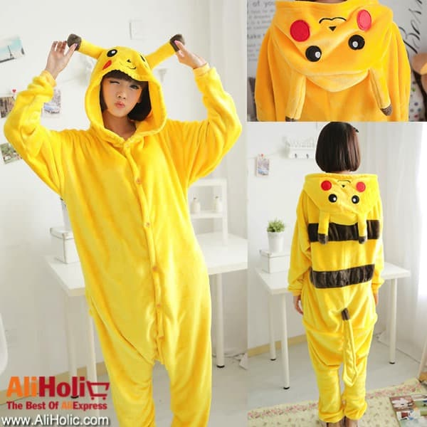 Pickachu onesie AliExpress
