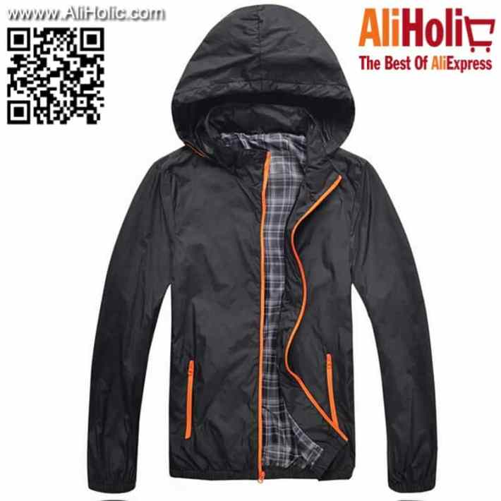 Waterproof unisex jacket AliExpress