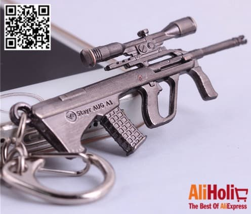 Gun key ring AliExpress 3