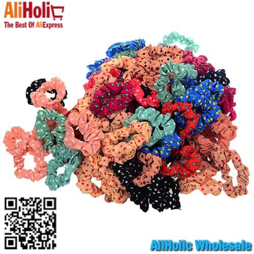 Hair elastics AliExpress