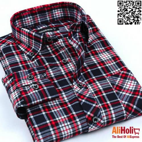Plaid shirts AliExpress 3