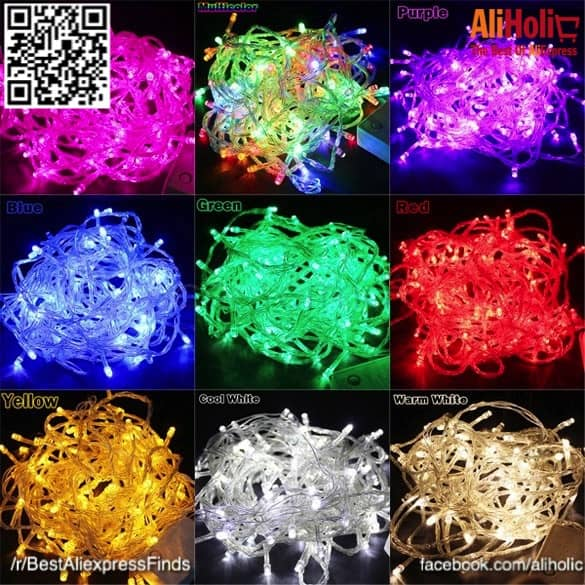 10-meter string lights