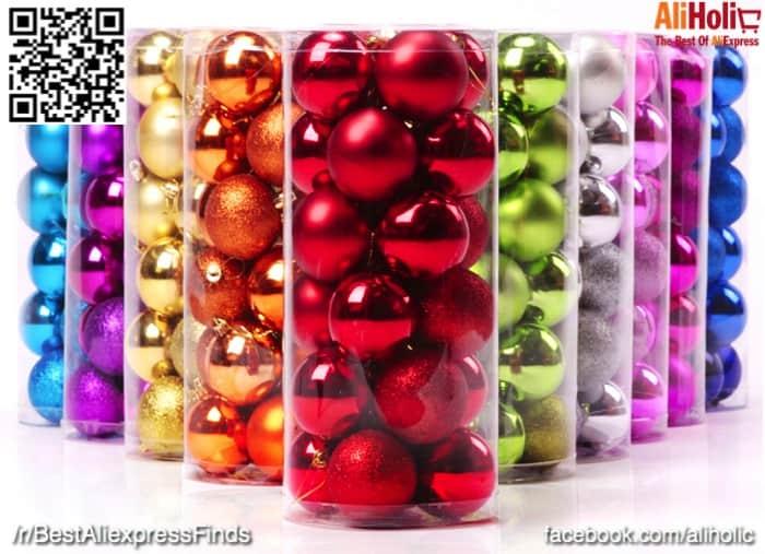 24-Pack christmas deciration balls