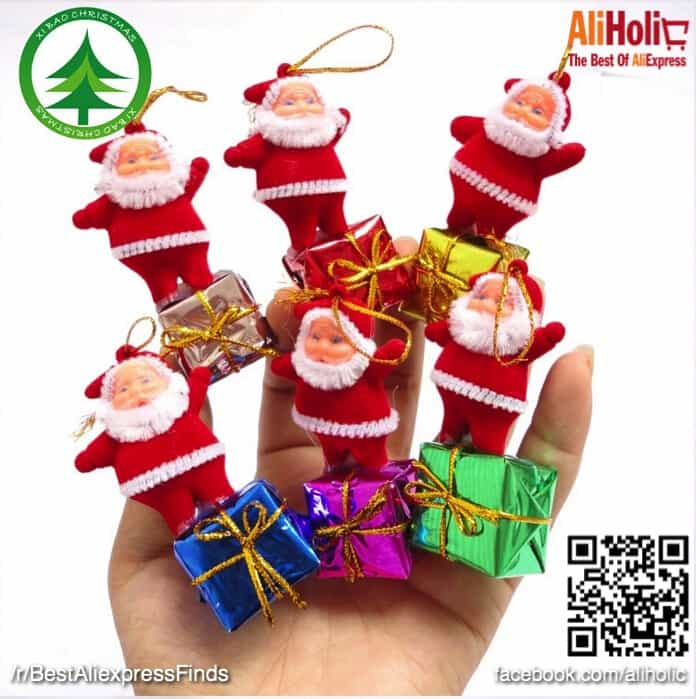5-Piece Santa boxes decorations