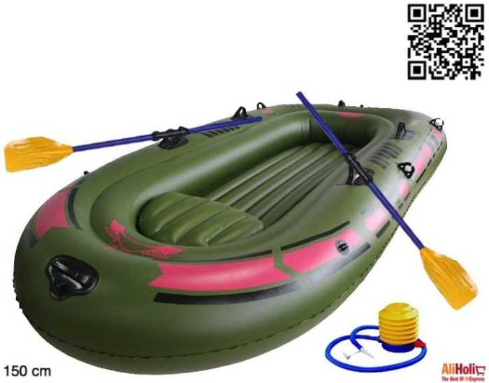 1-Person inflatable boat for kids