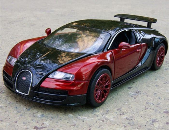 Bugatti Veyron scale model AliExpress