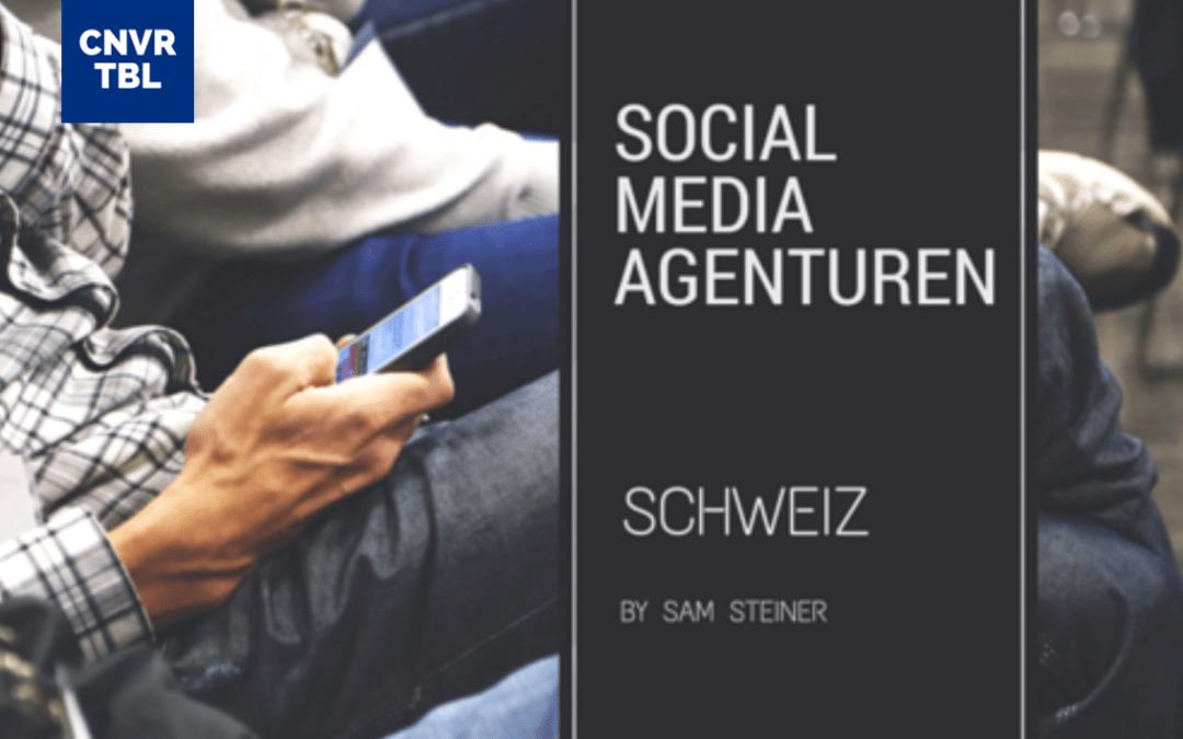 Social Media Agenturen Schweiz (Liste)