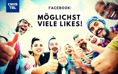 Facebook: Möglichst viele Likes!