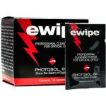 ewipes the wet method to cleaning your sensor