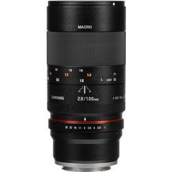 Samyang 100mm f2.8 ED UMC Macro Lens for Sony E-Mount