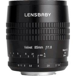 Lensbaby Velvet 85mm f1.8 Fujifilm X-Mount