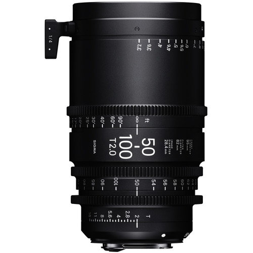 Sigma 50-100mm T2 Cinema Lens