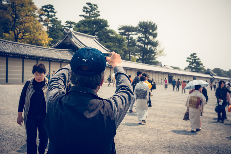 Compact Camera Photographer In Japan