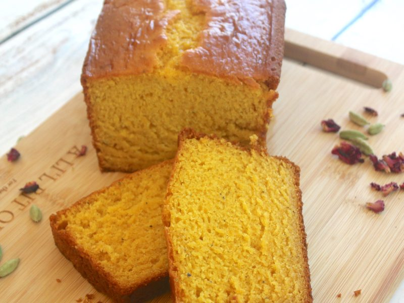 Mango Lassi Loaf Cake