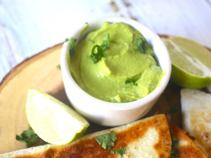 Avocado Cilantro Lime Dipping Sauce