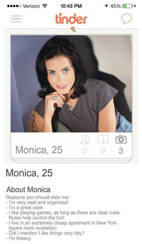 Tinder Friends Monica