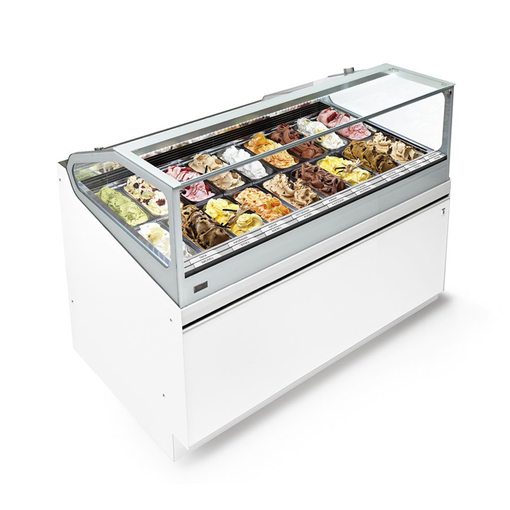 Vitrina IFI SAM80 con helados
