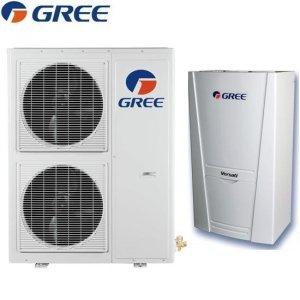 Термопомпа въздух-вода Gree VERSATI II,модел:GRS-CQ10Pd/NaB-K (220V)-4365