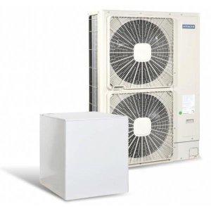 Високотемпературна термопомпа Hitachi YUTAKI S80 6V само отопление (230V) 16 kW-0