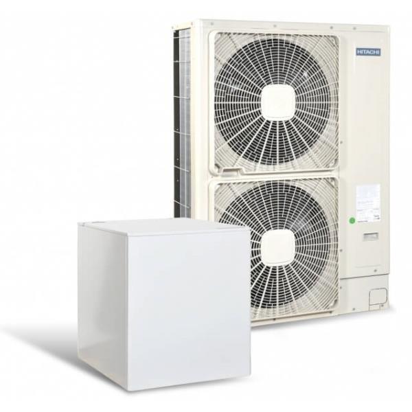 Високотемпературна термопомпа Hitachi YUTAKI S80 6 само отопление (400V) 16 kW-0