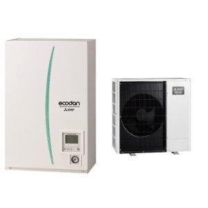 Термопомпа Mitsubishi Electric Ecodan,модел: ERSC-MEC/PUHZ-SHW112VAA Zubadan (11 kW)-0