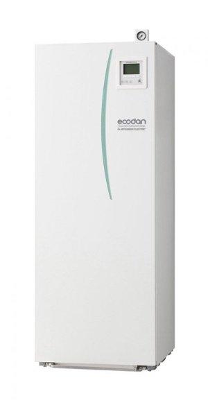 Термопомпа Mitsubishi Electric Ecodan,модел: EHST20C-VM2C+PAC-DP01-E/PUHZ-SW120V/YHA Power inverter с вграден водосъдържател (16 kW)-0