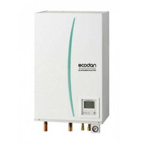 Термопомпа Mitsubishi Electric Ecodan,модел:ERSE-YM9EC/PUHZ-SHW230YKA Zubadan (23 kW - 400V)-0