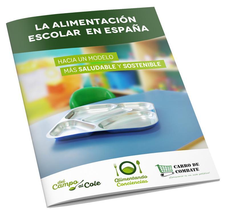 La alimentación escolar en España.