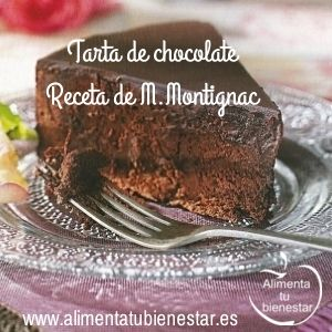 Postres saludables - tarta de chocolate