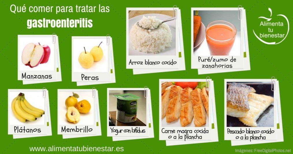 Qué comer para tratar la gastroenteritis