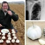 INCREÍBLE: él comió ajo todos los días con el estómago vacío! Aquí es lo que pasó …