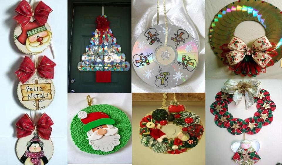 asombrosas navideas hechas con cds te las pierdas - Imagenes Navideas