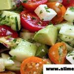 Deliciosa Ensalada Para Deshinchar El Vientre Y Bajar De Peso