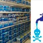 12 marcas de agua embotellada que están llenas de fluoruro tóxico