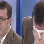 Este periodista no pudo más. Se largó a llorar en televisión por crudas imágenes de niños en Siria