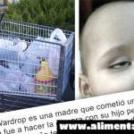 Presten atencion padres: Un niño enferma despues de que su madre lo llevara en el carro de la compra