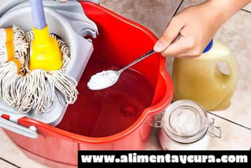 30 maneras de limpiar con bicarbonato de sodio casi cualquier cosa