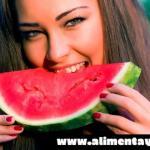 Dieta de la sandía para perder peso saludablemente (4 kg en 5 días)