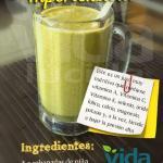Jugo para reducir la hipertensión rico en vitaminas y minerales