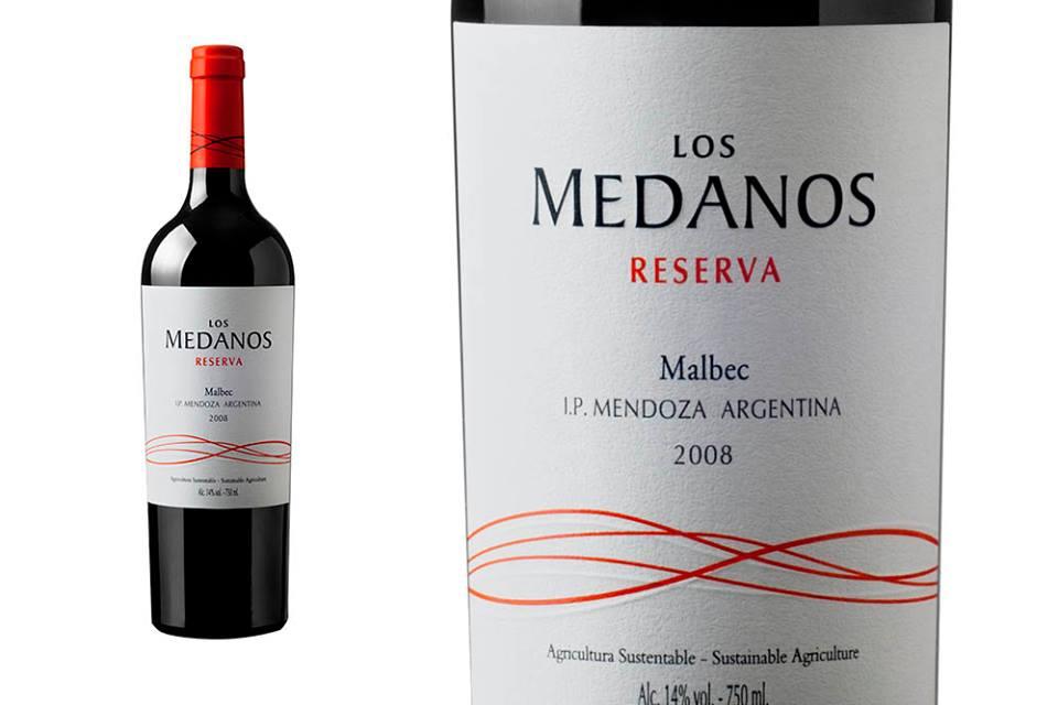 Vino Malbec 'Medanos' Reserva